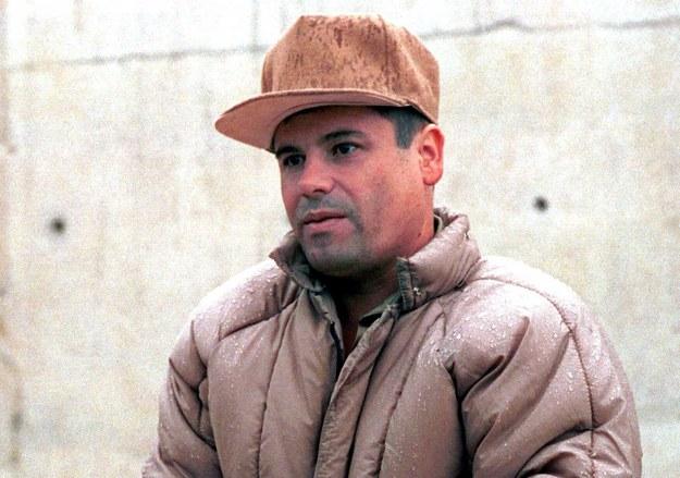 "Joaquin ""El Chapo"" Guzman na zdjęciu ze stycznia 2001 roku /PEDRO VALTIERRA /PAP/EPA"