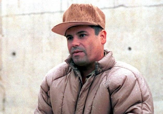 """Joaquin """"El Chapo"""" Guzman /PAP/EPA/PEDRO VALTIERRA /PAP/EPA"""
