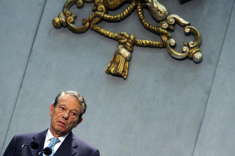 Joaquin Navarro-Valls /AFP