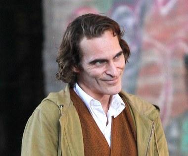 "Joaquin Phoenix na planie filmu ""Joker"""