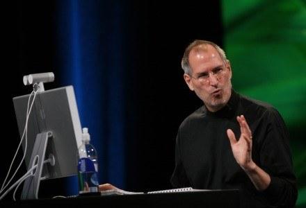 Jobs jest znany ze swojej kreatywności, ale także temperamentu /AFP