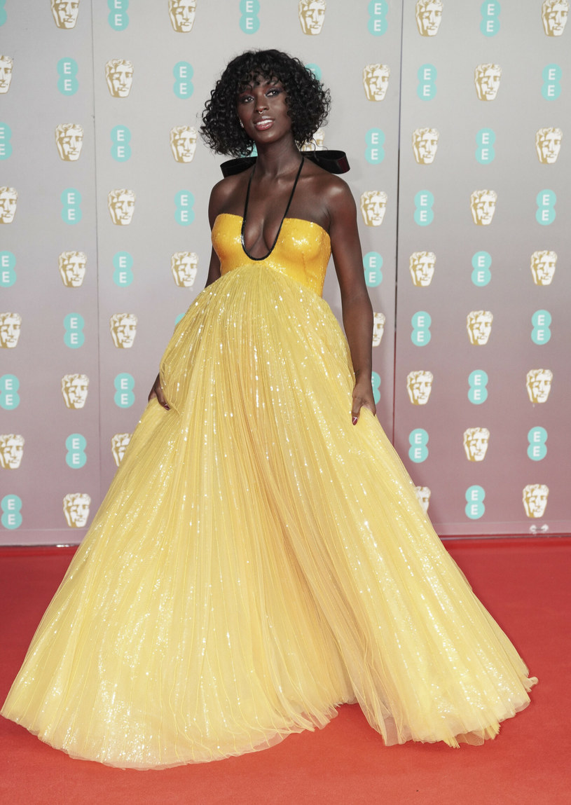 Jodie Turner-Smith na rozdaniu nagród BAFTA w 2020 roku /Splash News /East News