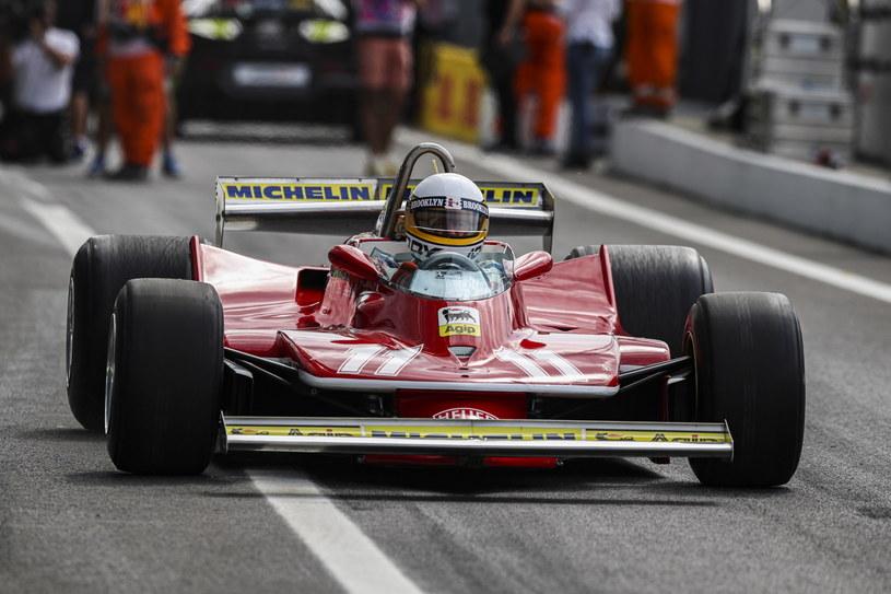Jody Scheckter w bolidzie Ferrari /Pixathlon/REPORTER /