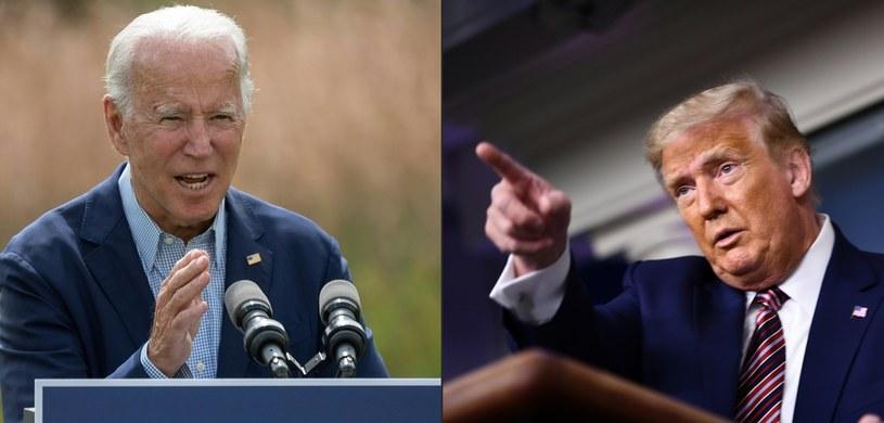 Joe Biden i Donald Trump zmierzą się w debacie /JIM WATSON, BRENDAN SMIALOWSKI / AFP /AFP