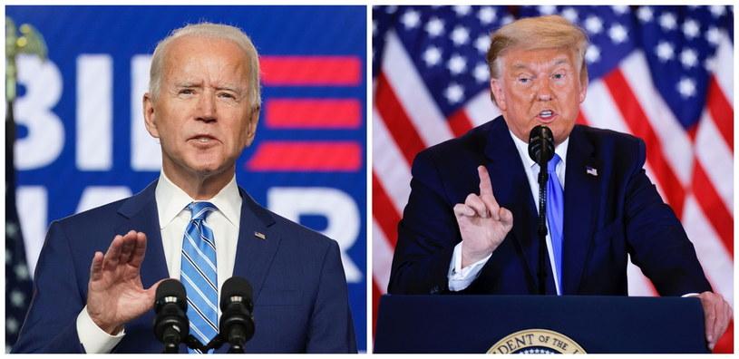 Joe Biden i Donald Trump /Reuters Photographer /Agencja FORUM