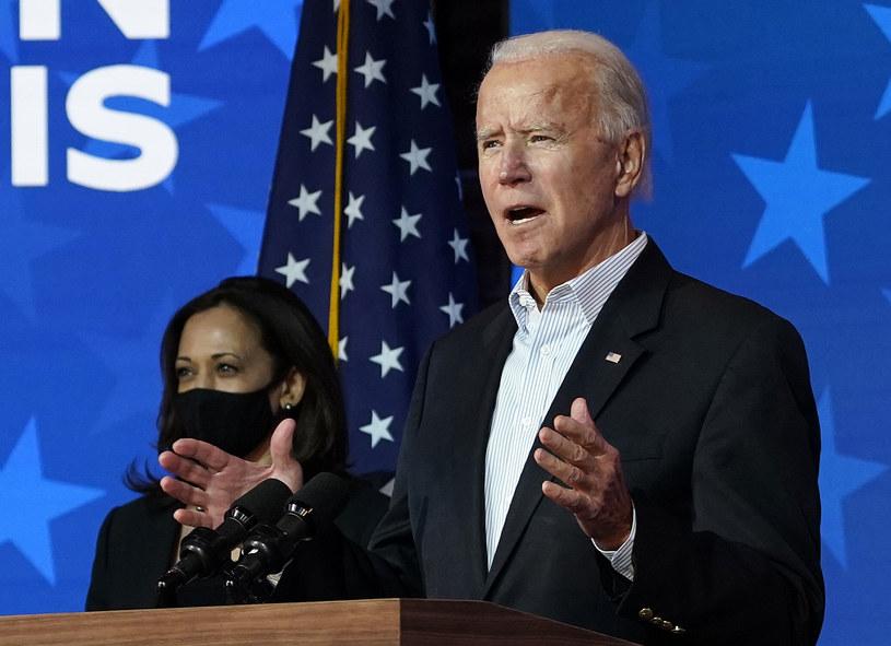 Joe Biden i Kamala Harris (kandydatka na wiceprezydenta) /AFP