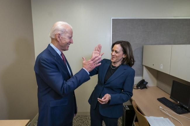 Joe Biden i Kamala Harris /BIDEN CAMPAIGN / ADAM SCHULTZ HANDOUT /PAP/EPA