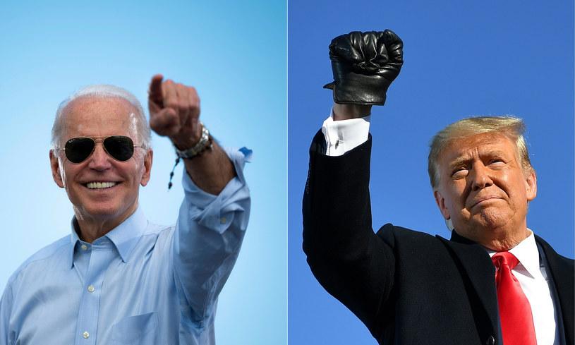 Joe Biden kontra Donald Trump /AFP