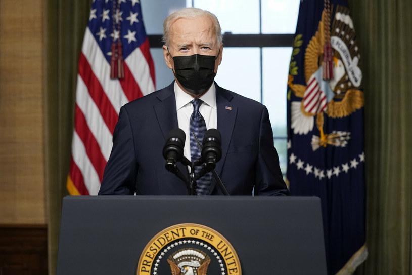 Joe Biden ogłasza decyzję o wycofaniu sił USA z Afganistanu /AP Pool/Associated Press/East News /East News