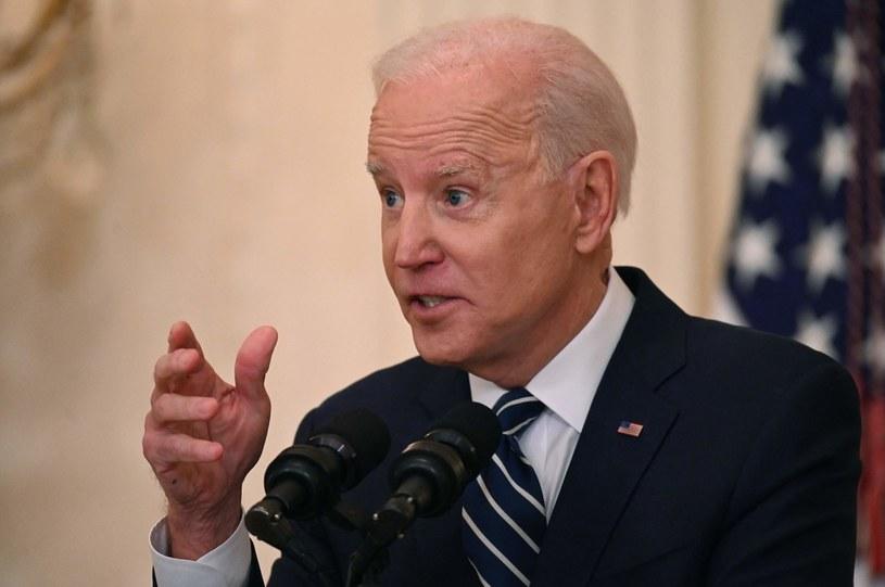 Joe Biden, prezydent USA /AFP