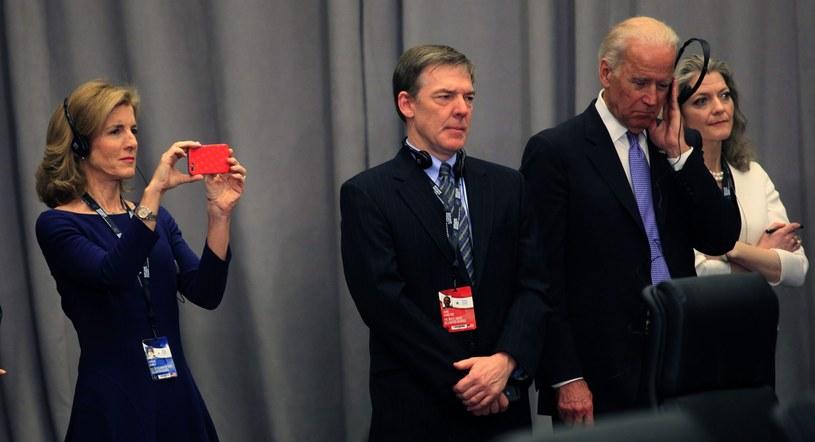 Joe Biden uczestniczy w szczycie /PAP/EPA