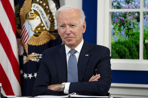 Joe Biden w Białym Domu /MICHAEL REYNOLDS / POOL /PAP/EPA