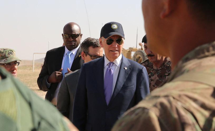 Joe Biden w Jordanii /AFP