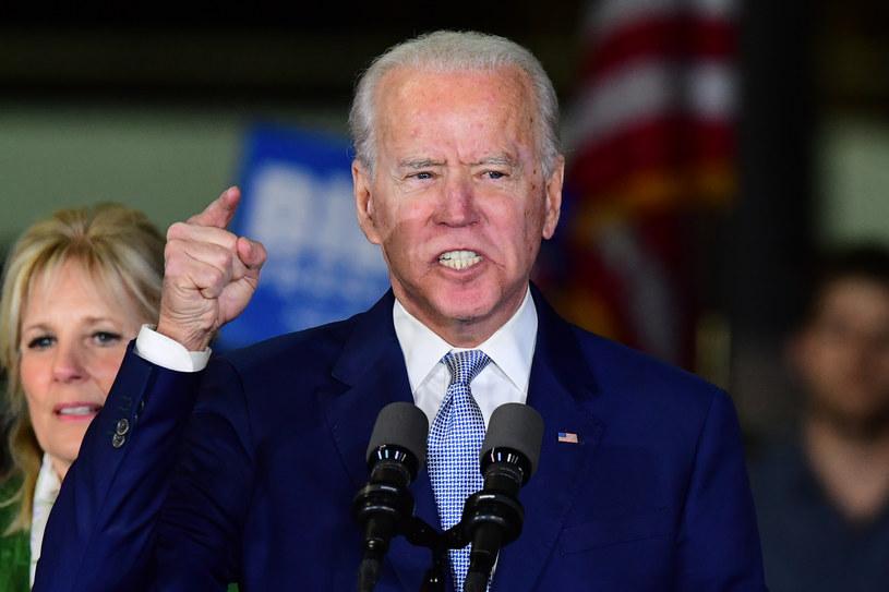 Joe Biden w Los Angeles /AFP