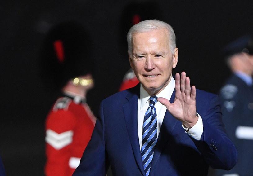 Joe Biden w Wielkiej Brytanii /NEIL HALL / POOL /PAP/EPA