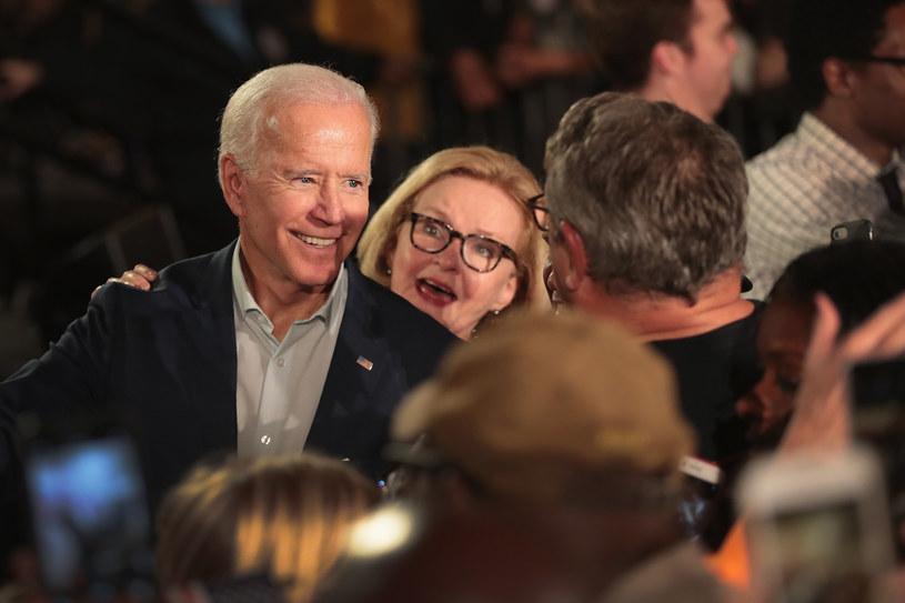 Joe Biden wciąż nie ogłosił swojej decyzji /AFP