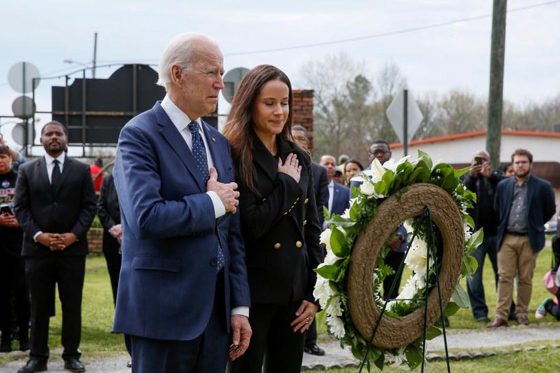 Joe Biden z córką Ashley Biden /Reuters /Agencja FORUM
