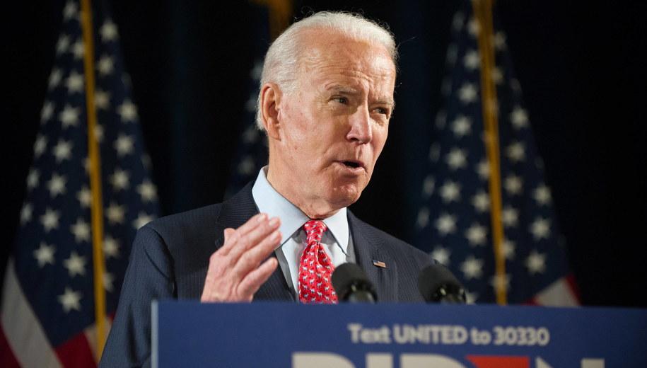 Joe Biden /TRACIE VAN AUKEN /PAP/EPA