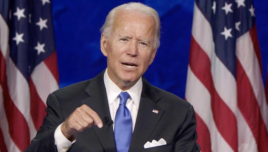 Joe Biden /DNCC /PAP/EPA