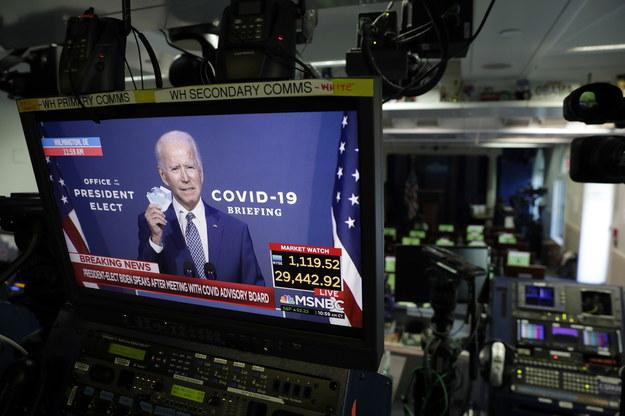 Joe Biden /YURI GRIPAS /PAP/EPA