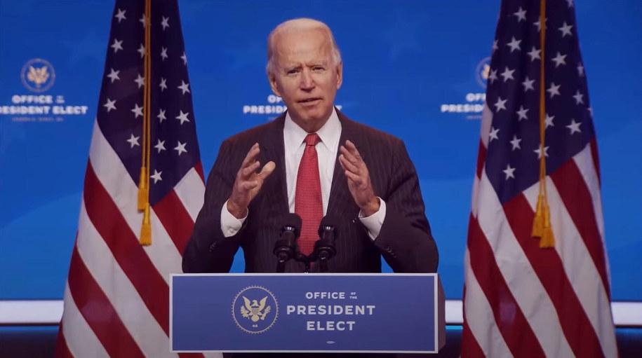 Joe Biden /OFFICE OF THE PRESIDENT ELECT/HANDOUT /PAP/EPA