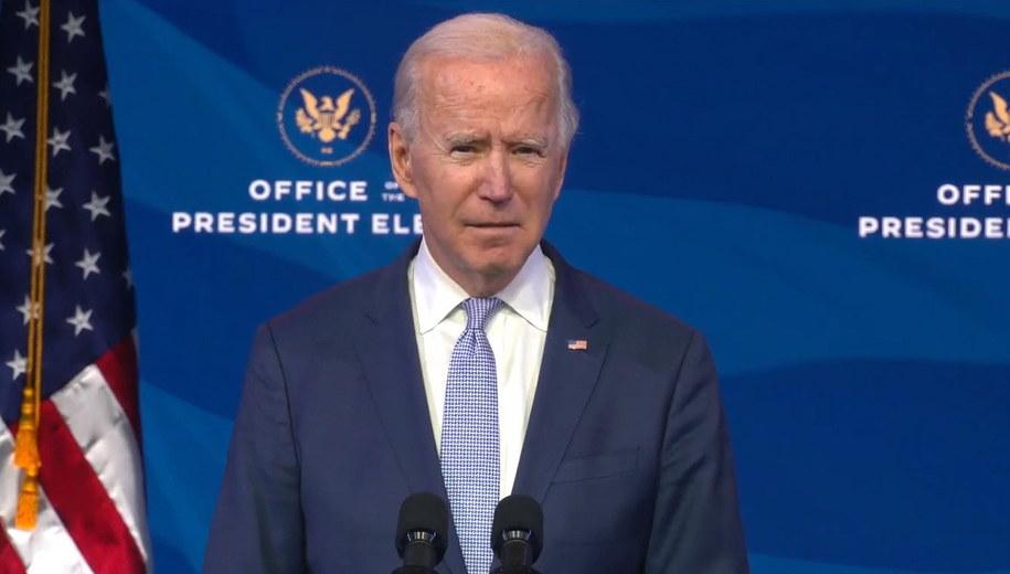 Joe Biden /OFFICE OF THE PRESIDENT ELECT/HANDOU /PAP/EPA