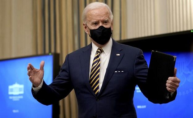 Joe Biden /KEN CEDENO / POOL /PAP/EPA