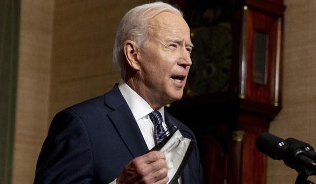 Joe Biden /ANDREW HARNIK / POOL /PAP/EPA