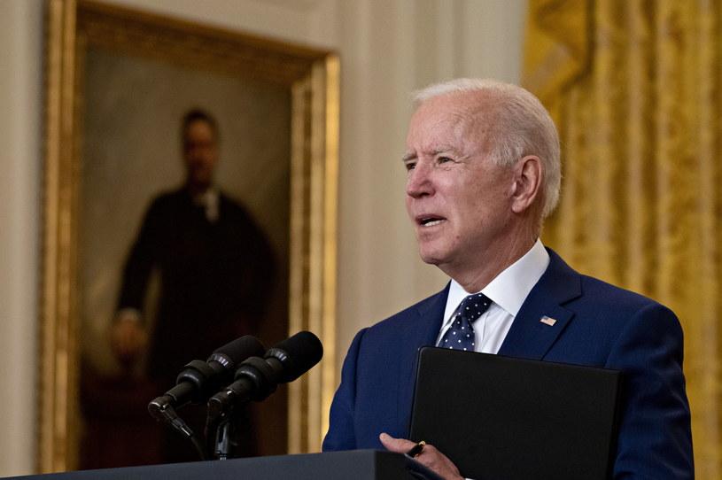 Joe Biden /Andrew Harrer /PAP/EPA