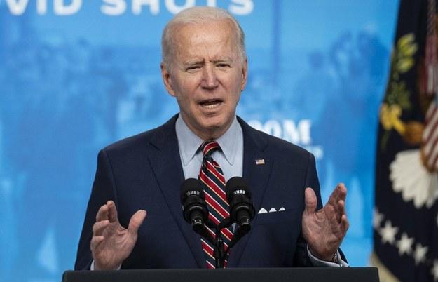 Joe Biden /SARAH SILBIGER / POOL /PAP/EPA