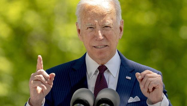 Joe Biden /Stefani Reynolds / POOL /PAP/EPA
