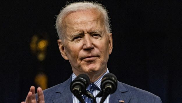 Joe Biden /SAMUEL CORUM / POOL /PAP/EPA