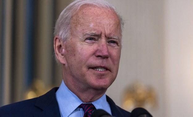 Joe Biden /TASOS KATOPODIS / POOL /PAP/EPA