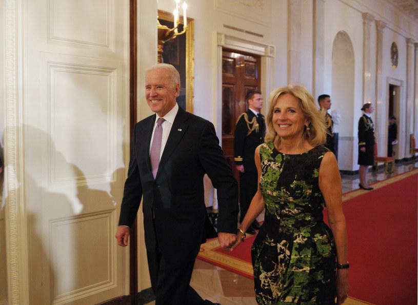 Joe i Jill Bidenowie są małżeństwem od przeszło 44 lat /AFP /East News