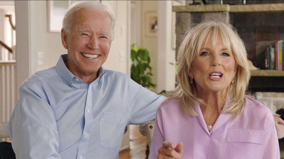 Joe i Jill Bidenowie /DNCC /PAP/EPA