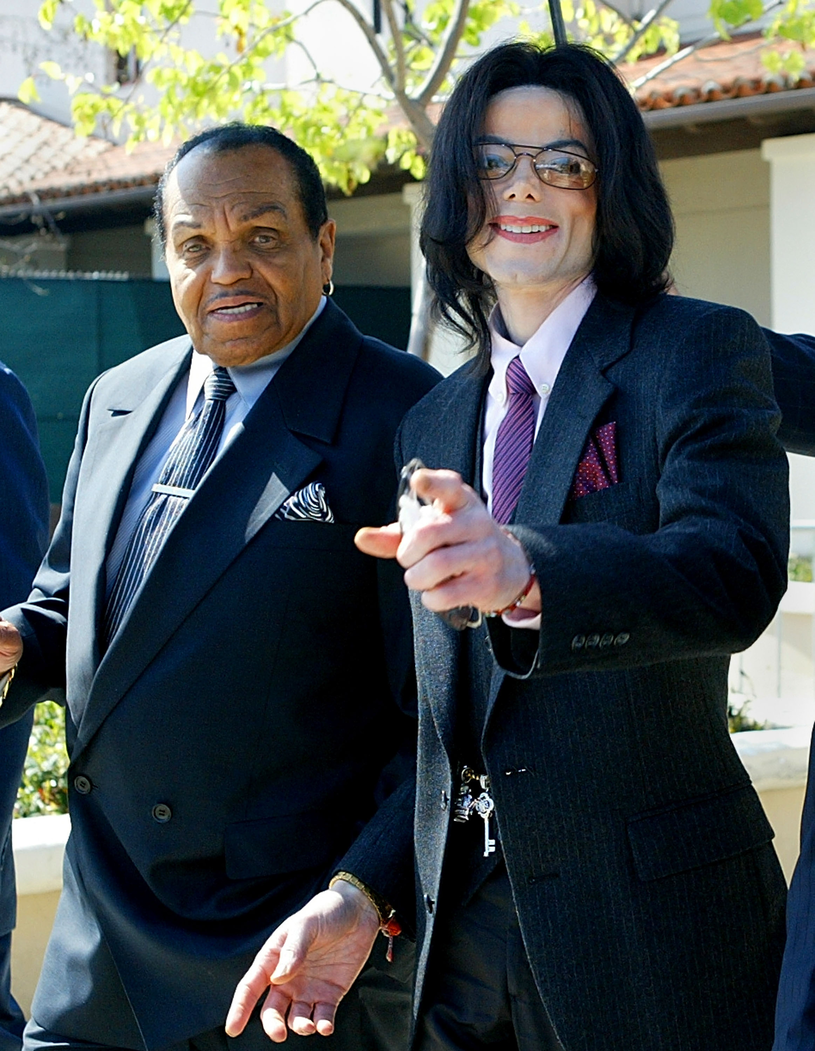 Joe Jackson z Michaelem Jacksonem /Pool /Getty Images
