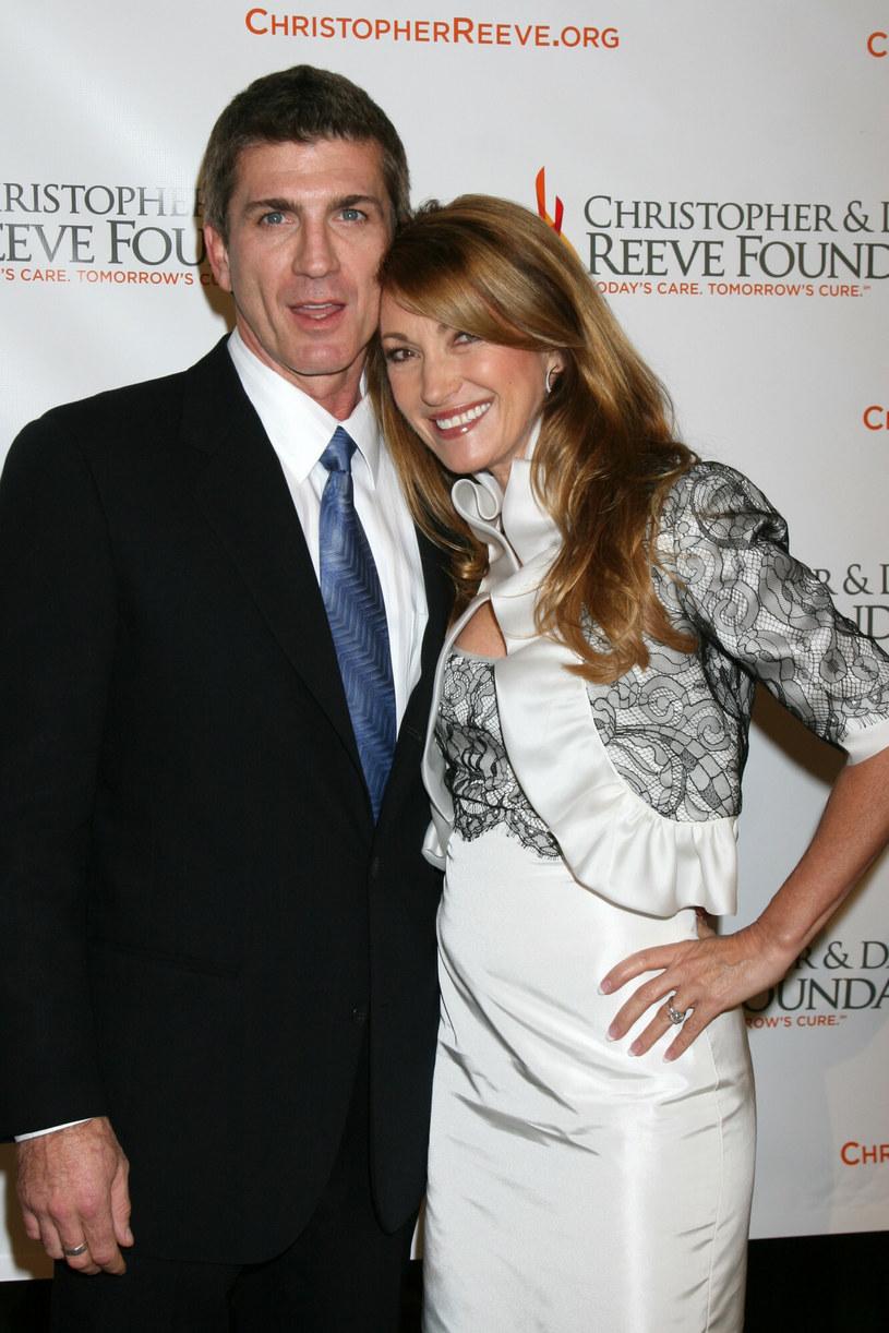 Joe Lando i Jane Seymour w 2008 roku /RL/REPORTER /East News