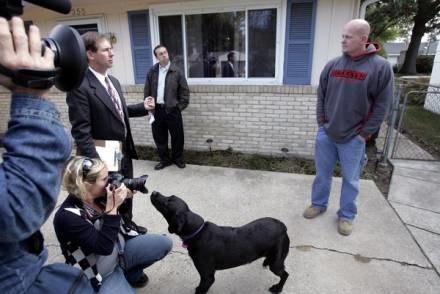 """""""Joe'mu Hydraulikowi"""" zainteresowanie mediów nie wyszło na dobre /AFP"""