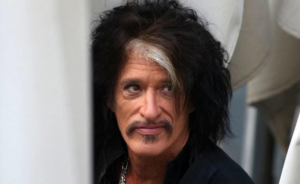 Joe Perry - gitarzysta Aerosmith - trafił do szpitala po koncercie