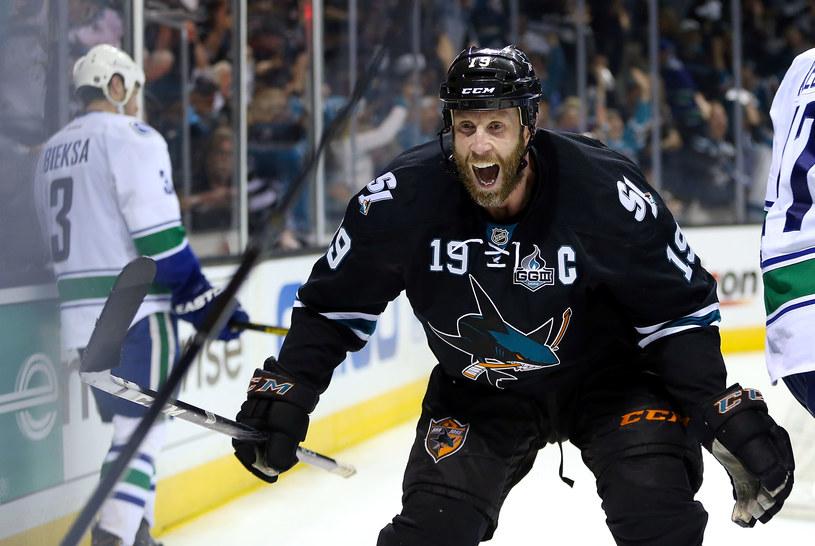 Joe Thornton z San Jose Sharks /AFP