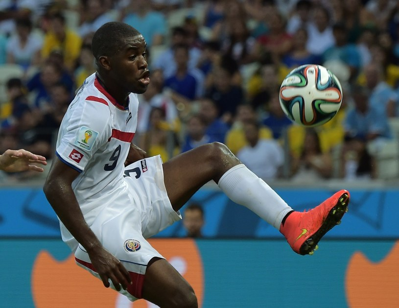 Joel Campbell, wschodząca gwiazda reprezentacji Kostaryki /AFP