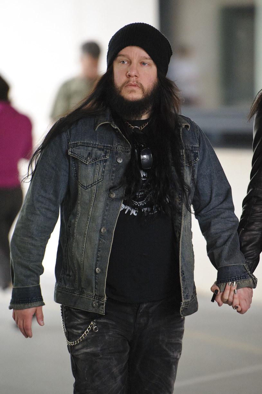 Joey Jordison, 2013 rok /Ben Pruchnie /Getty Images