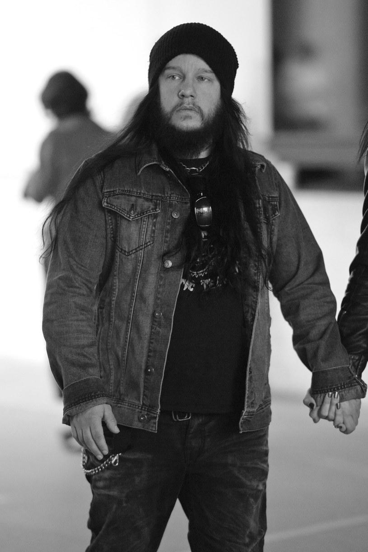 Joey Jordison w 2013 r. /Ben Pruchnie/FilmMagic /Getty Images