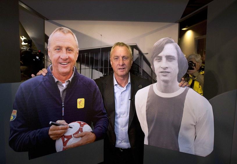 Johann Cruyff, legenda futbolu /AFP