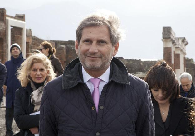 Johannes Hahn, europejski komisarz ds. polityki regionalnej /AFP