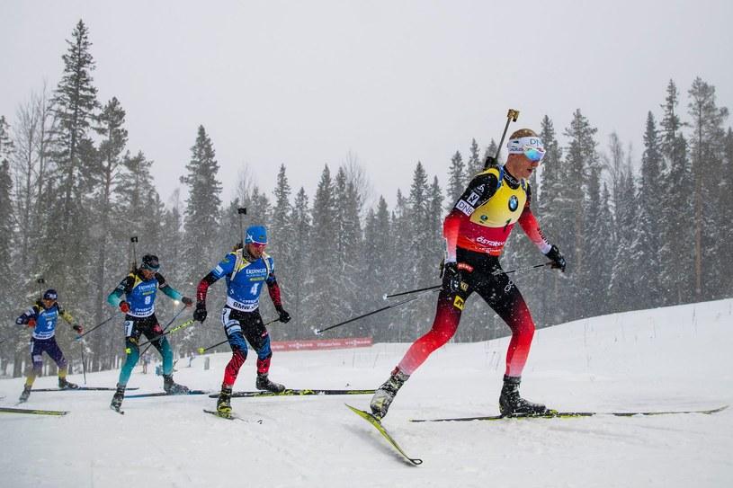 Johannes Thingnes Boe wygrał ostatnie zawody biathlonowego Pucharu Świata /AFP