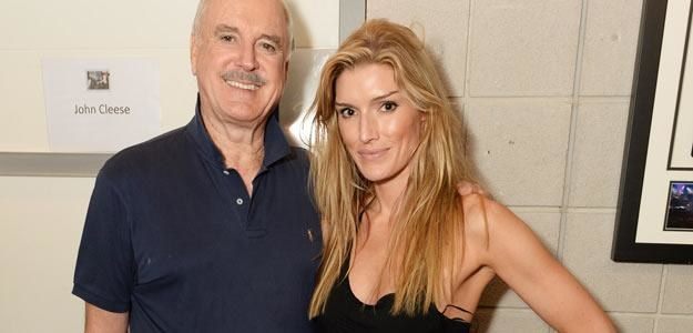 John Cleese z córką Camillą - fot. Dave J Hogan /Getty Images