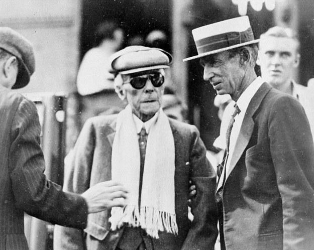 John D Rockefeller, 1934 r. / UPPA/Photoshot    /PAP/Photoshot