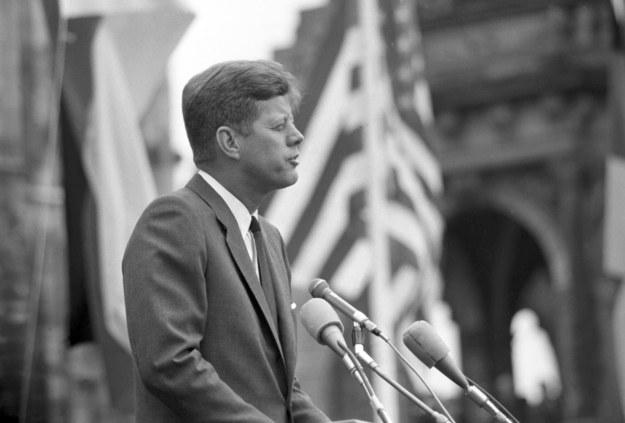 John F. Kennedy został zastrzelony 22 listopada 1963 roku /dpa Fotografen    /PAP/EPA