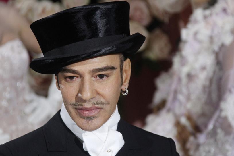 John Galliano pożegnał się z Diorem w atmosferze skandalu /AFP /East News